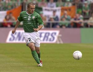 Stephen Carr in action for Ireland in 2003. Photo: Sportsfile