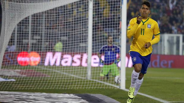 'Firmino may still have some way to go until he totally eliminates misses like that against Colombia from his game, but he almost always offers something worth looking at'