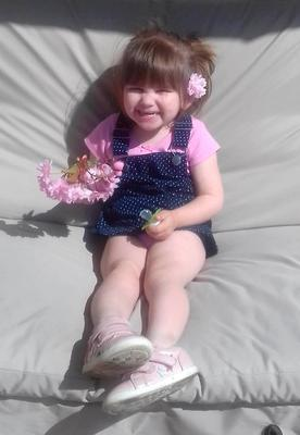 Ava-May Littleboy died of a head injury after being thrown from a bouncy castle on a beach Photo credit: Norfolk Constabulary/PA Wire