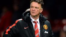 Louis van Gaal is on course to secure a Champions League berth