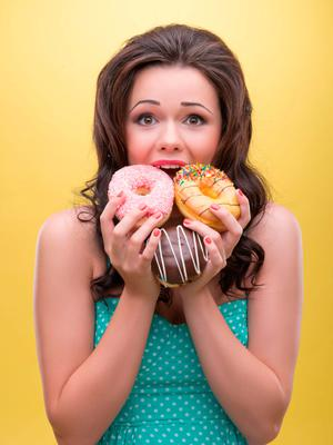 All or nothing: Our attitude towards food is confused because of the way we talk about being 'good' and being 'bad'. Stock photo