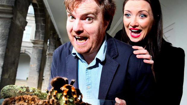 Pictured at the 2015 eircom Spider Awards were (l to r) Bernard O'Shea and Jennifer Maguire.