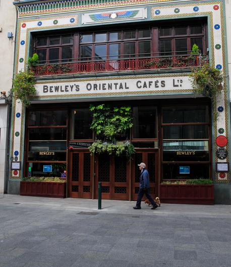 The iconic Bewley's Cafe on Grafton Street
