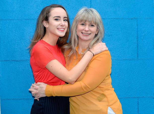 Megan-Kate and Bernadette Doolan are both hugely creative. Photo: Justin Farrelly