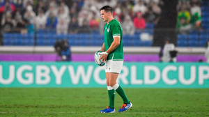 'When and how to use Sexton is a decision that could have lasting repercussions on Ireland's chances of beating South Africa in an almost inevitable quarter-final in four weeks' time.' Photo by Brendan Moran/Sportsfile