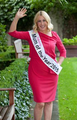 Amelda Maguire, wife of TV chef Neven Maguire was announced as Celebrity Woman's Way & Lidl Mum of the Year 2015
