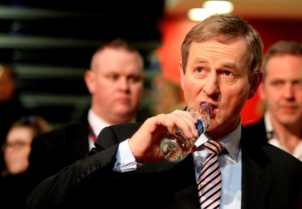 Forget water charges, this is all about Enda Kenny now.