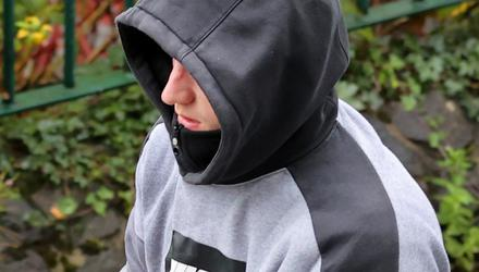 In court: Cailean Crawford, from Ballyfermot, was charged with attempted murder of a man in Lucan. Photo: Frank McGrath