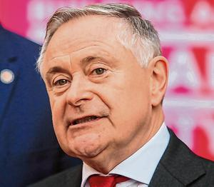 Advice: Ex-minister Brendan Howlin has told the Taoiseach to base his case to the EU on the Brexit fallout. Photo: Gareth Chaney/Collins