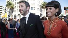 Chris O'Dowd and Dawn O'Porter  at the Oscars. Picture: (Kelsey McNeal via Getty Images)