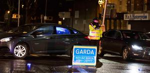 Gardai preserve the scene of a fatal shooting at James Larkin House, North Strand..Picture Colin Keegan, Collins Dublin.