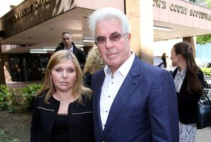 Max Clifford's daughter Louise attended court each day during his trial but his ex-wife says he never asked her to come along. Philip Toscano/PA Wire
