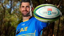 Rob Kearney poses following a Western Force Super Rugby training session at UWA Rugby Club, McGillivray Oval in Perth, Australia. Photo: Paul Kane/Getty Images