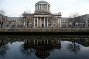 The Four Courts. Stock picture