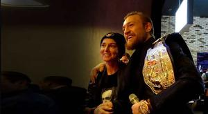 Sinead O'Connor and Conor McGregor meet for the first time
