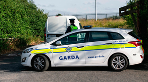 Gardai at the scene of the shooting in Drogheda which targeted Owen Maguire, who was once a close associate of jailed gangster Cornelius Price