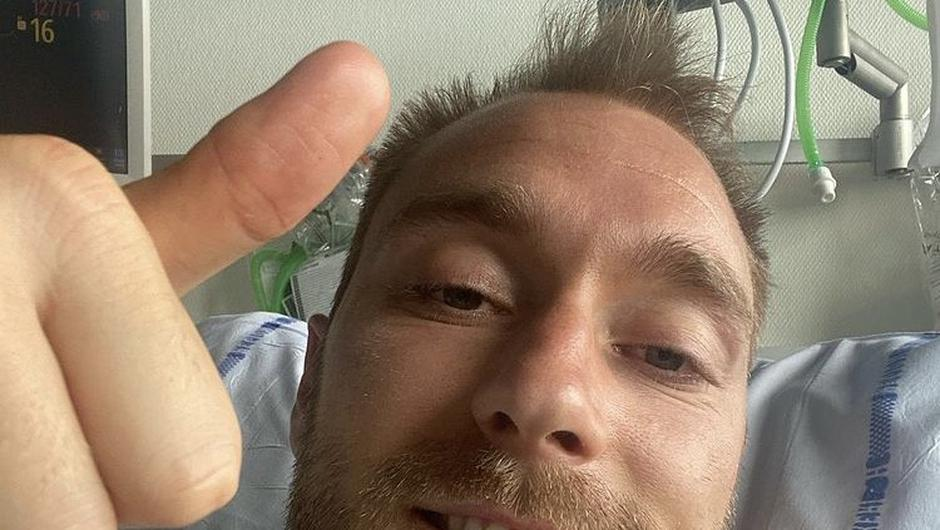 Christian Eriksen is recovering after suffering cardiac arrest.