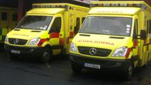 Between 4pm on New Year's Eve and 6am yesterday, the Dublin Fire Brigade (DFB) received a total of 321 ambulance call-outs, with 188 of these after midnight. (Stock image)