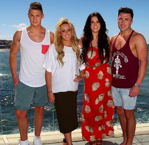 Scott Timlin, Charlotte Letitia Crosby, Vicky Pattinson and James Tindale.