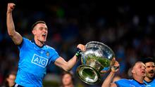 Brian Fenton and Ciarán Kilkenny have become the engineer and architect of this Dublin team but their connection goes back many years. Photo: Sportsfile