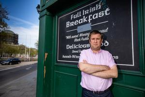 """Restaurant Association of Ireland chief Adrian Cummins said halving the physical distancing rule would be a """"game changer"""" for the industry. Picture: Mark Condren"""