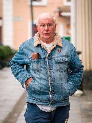 Christopher McCarthy leaves Castlebar District Court. Picture: Phocus