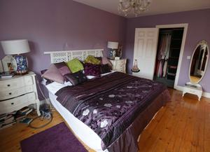 The bedroom of a house in Chesterfield Close, Castleknock, The house is used as the character Nidge's house in Love Hate. Picture credit; Damien Eagers / Herald  14/3/2014
