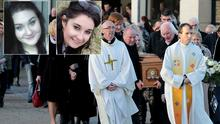 Niamh Doyle and Ashling Middleton, both 19, were laid to rest today  Picture: Gerry Mooney