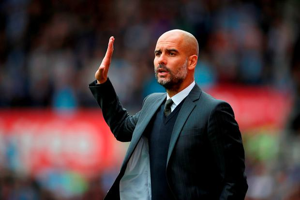 Pep Guardiola has made an impressive start to his reign at Manchester City Picture: PA