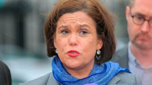 Sinn Féin leader Mary Lou McDonald
