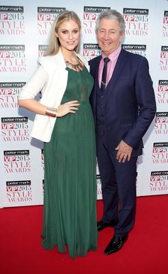 Lisa McLoughlin and Gary Kavanagh on the Red Carpet at The Peter Mark VIP Style Awards Pictures Brian McEvoy