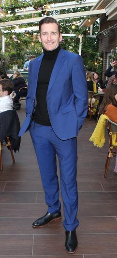 Paul Byrom at the launch party of Elle's Bar at the Iveagh Garden Hotel, Harcourt Street. Picture: Leon Farrell/Photocall Ireland
