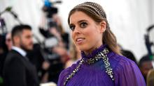 Princess Beatrice of York attends the Heavenly Bodies: Fashion & The Catholic Imagination Costume Institute Gala at The Metropolitan Museum of Art on May 7, 2018 in New York City.  (Photo by Noam Galai/Getty Images for New York Magazine)