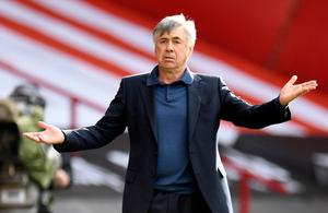Everton manager Carlo Ancelotti. Photo: Getty Images