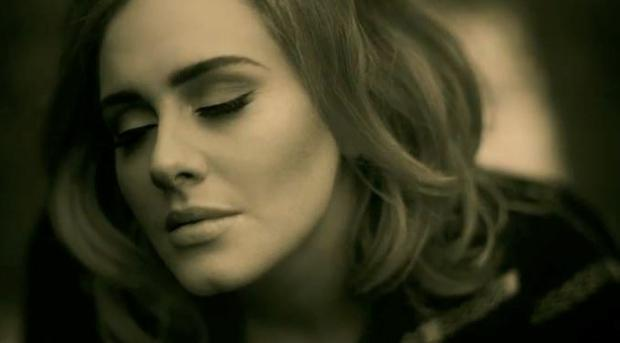 Adele in her new video for 'Hello'