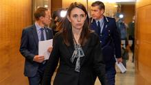 New cases: New Zealand's Prime Minister Jacinda Ardern - a resurgence of Covid in her remote island nation has dealt a blow to the idea that we seal Ireland off from the rest of the world. Photo: Mark Mitchell/New Zealand Herald via AP