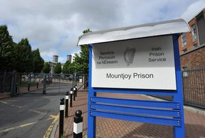 Douglas Ward, an inmate at Mountjoy Prison in Dublin was serving a 10-year sentence for the manslaughter of Niall Dorr in Dundalk on October 13, 2010. Stock Image