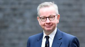 British cabinet minister Michael Gove. Photo: REUTERS