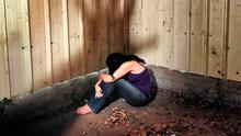 Shameful saga: Bizarre decisions in relation to the care of Grace remain unexplained — including the fact she was returned to her foster home in 2009 after being seen at a sexual assault unit. Picture posed.