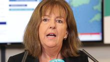 Annoyed: Evelyn Cusack hit out at people posting fake weather warnings. Picture: Damien Eagers