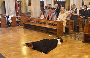 Philip Mulryne at his Solemn Profession to the Dominican Order