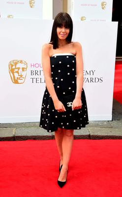 Claudia Winkleman arrives for the House of Fraser British Academy of Television Awards at the Theatre Royal, Drury Lane in London. Photo: Ian West/PA Wire