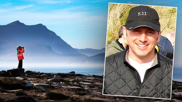 Captain Mark Duffy (inset) has been recovered from tragic helicopter