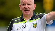 Declan Bonner will be named as new Donegal manager