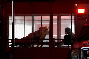 Ventilators are already running short in hard-hit places like New York. Photo: Andrew Kelly/Reuters