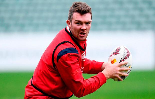 Peter O'Mahony during a British and Irish Lions training session at QBE Stadium in Auckland, New Zealand. Photo: Stephen McCarthy/Sportsfile