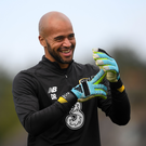 Darren Randolph has played just one club game in the past 10 weeks. Photo: Sportsfile