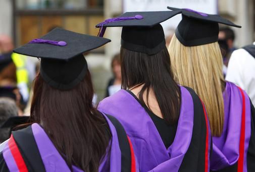 Many students are reluctant to give up their dream of a place at university