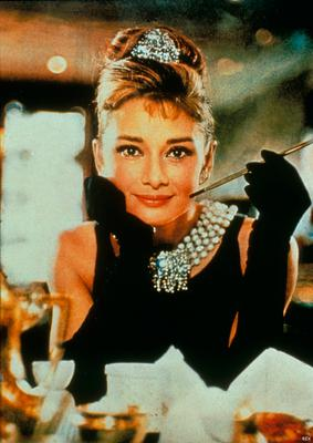Holly Golightly's black dress in Breakfast at Tiffany's, worn by Audrey Hepburn and designed by Hubert de Givenchy