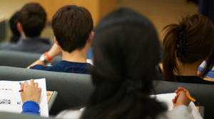 Many universities are continuing online lectures (stock photo)